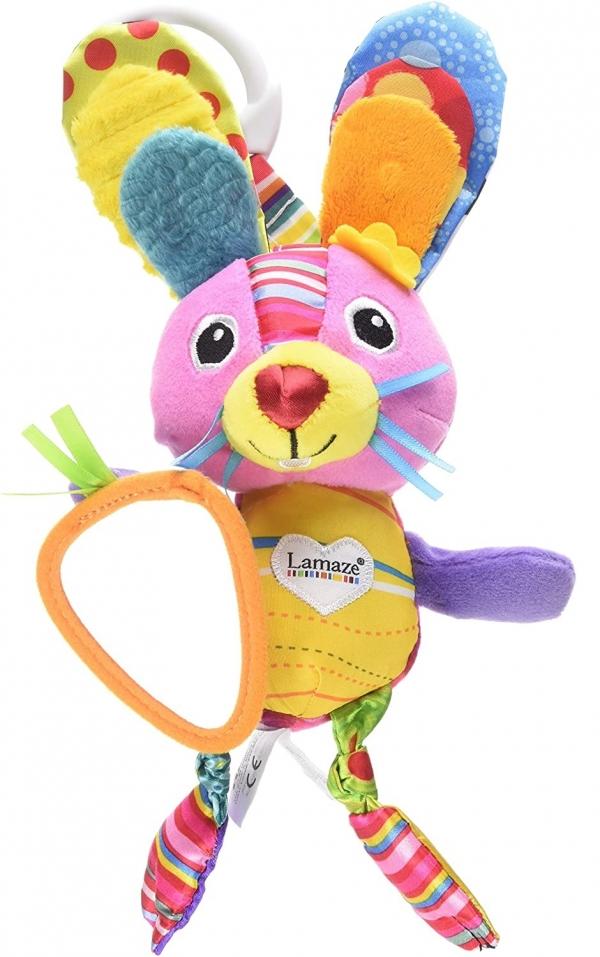 Lamaze: zawieszka pluszowy króliczek Bella LC27553 (53110)
