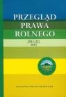 Przegląd Prawa Rolnego nr 1 (12) 2013