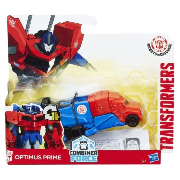 TRANSFORMERS Robots in Disguise,  One Step Optimus Prime (B0068/C0648)