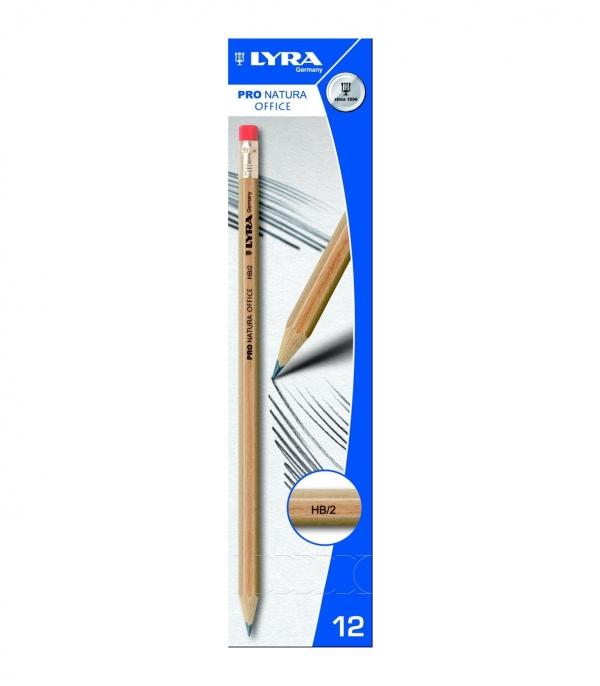 Ołówek Lyra pro natura hb z gumką (1350100) Fila Polska
