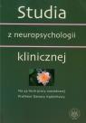 Studia z neuropsychologii klinicznej
