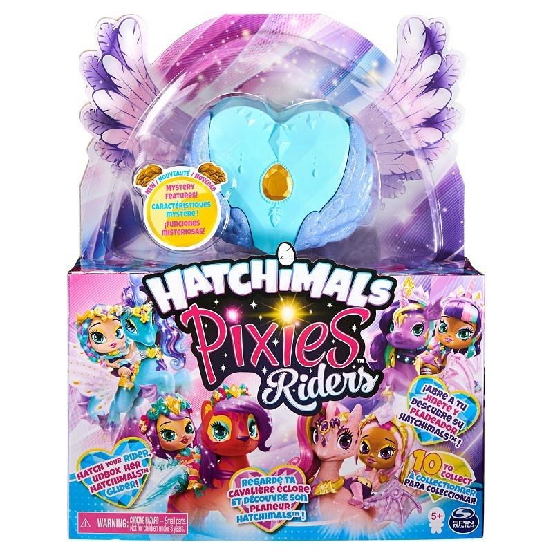 Hatchimals Pixies Riders: Wróżka Lagoon Lily i Seastallion Glider (6058551/20127515)