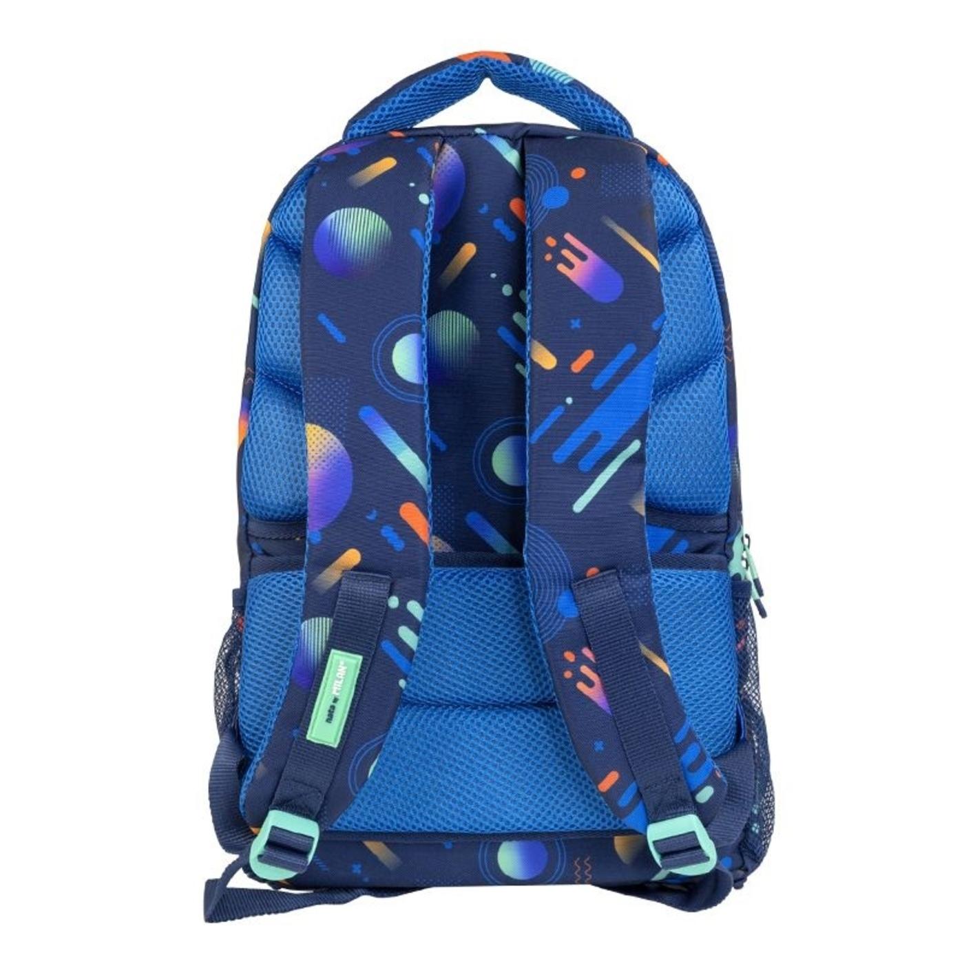 Plecak szkolny Milan 25l Psico Galaxy niebieski (624604PSG)