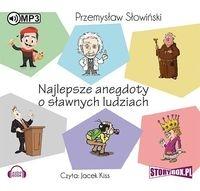 Najlepsze anegdoty o sławnych ludziach (Audiobook) Słowiński Przemysław
