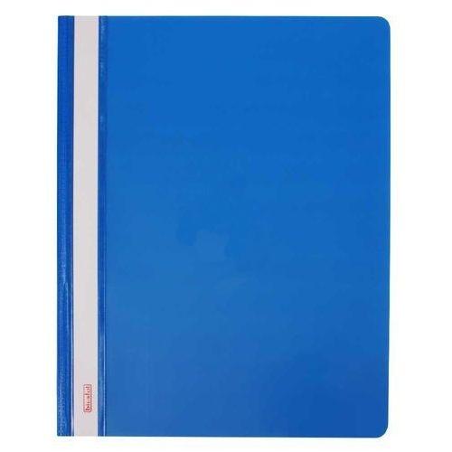 Skoroszyt A4, twardy, niebieski - 10 szt.