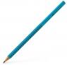 Ołówek Grip 2001 turkusowy B Faber-Castell (517053 FC)