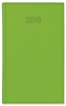 Kalendarz książkowy A6 tygodniowy Vivo jasny zielony 2018