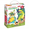 Puzzle progresywne. Dinozaury 3+