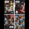 Zeszyt A5 16k kratka Star Wars epizod VII laminowany