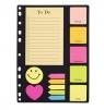 Zakładki i notesy zestaw do segregatora A4 D.RECT