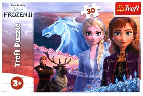 Puzzle 30: Frozen 2 - Odwaga sióstr (18253)