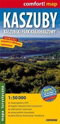 Kaszuby Kaszubski Park Krajobrazowy mapa turystyczna 1:50 000