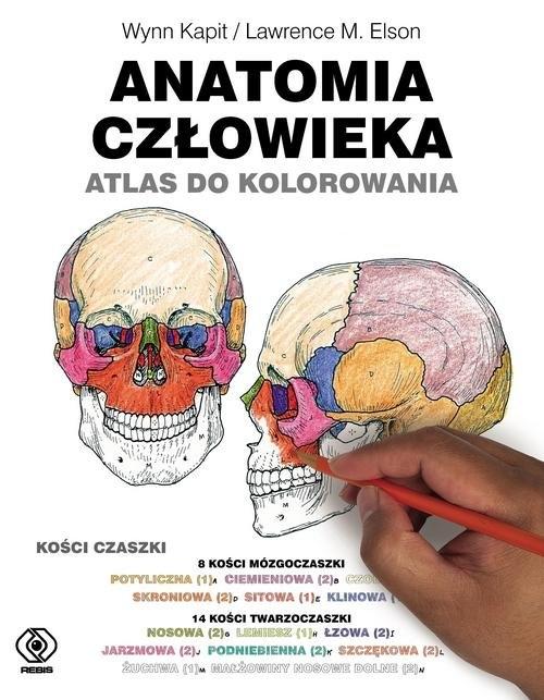Anatomia człowieka. Atlas do kolorowania Kapit Wynn, Elson Lawrence M.