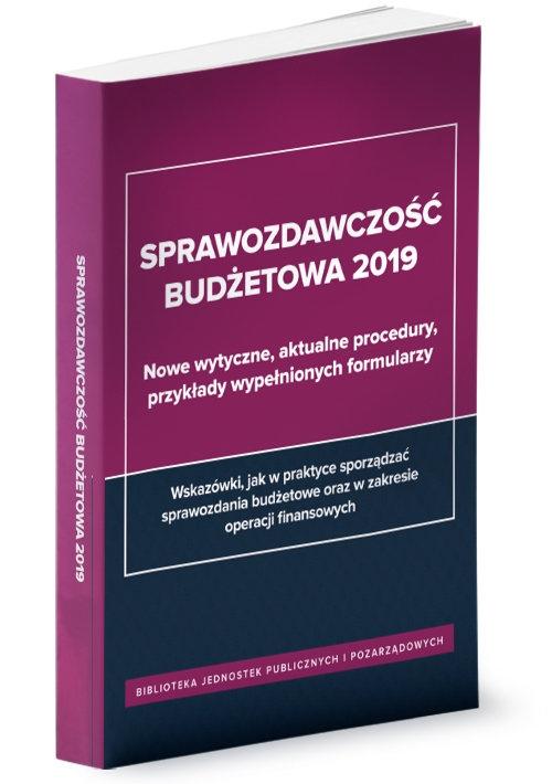 Sprawozdawczość budżetowa 2019 Jarosz Barbara
