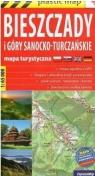 Plastic map Biesz.i Góry Sanocko-Turcz.1:65 000