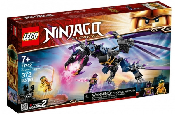 Klocki Ninjago 71742 Smok Overlorda (71742)