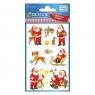 Naklejki bożonarodzeniowe Z Design - Mikołaje (4053)