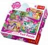 Puzzle 4w1: My Little Pony Puzzle - Wakacje kucyków (34153) Wiek: 4+