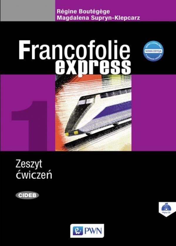 Francofolie express 1 Zeszyt ćwiczeń Supryn-Klepcarz Magdalena