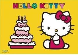 Puzzle  2X12 Kitty obchodzi urodziny (075539) RAP075539