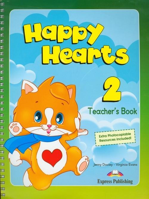 Happy Hearts 2 Teacher's Book Dooley Jenny, Evans Virginia