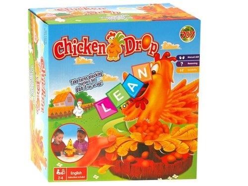 Wesoła zręcznościowa gra oskub kurczaka