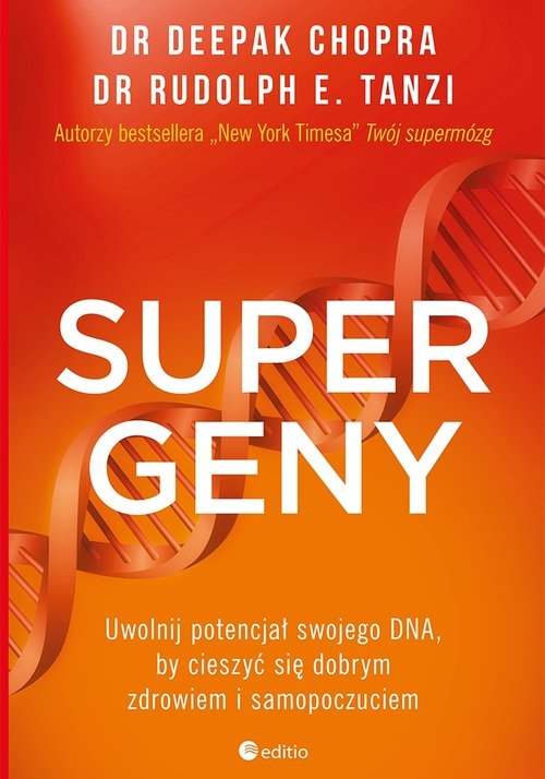 Supergeny (Uszkodzona okładka) Chopra Deepak,  Tanzi Rudolph E.