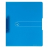 Segregator A4 PP 2R 2,5 cm niebieski transparentny