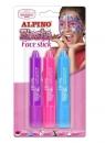 Kredki do makijażu w sztyfcie 3 kolory Girl ALPINO