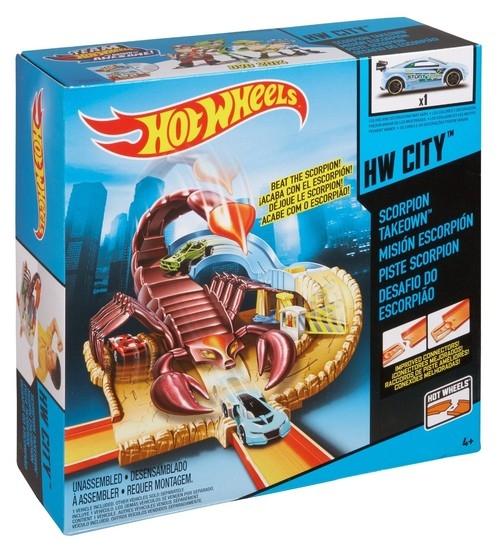 Hot Wheels tor Atak skorpiona