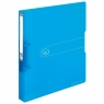 Segregator easy.orga A4/2,5cm - niebieski transparentny