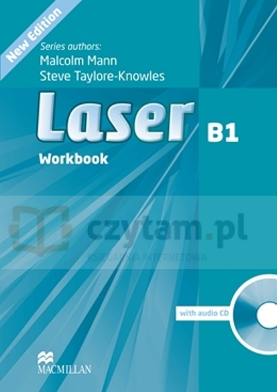 Laser 3ed B1 WB without Key +CD Malcolm Mann, Steve Taylore-Knowles