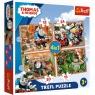 Puzzle 4w1: Tomek i Przyjaciele - Podróże po świecie (34354)