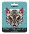 Zakładka magnetyczna - Mandala Kot