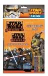 Dwie kolorowanki z kredkami. Star Wars Rebels
