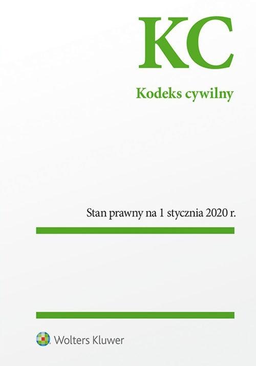 Kodeks cywilny Przepisy (Uszkodzona okładka)