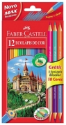 Kredki Dwustronne 15 szt. Faber Castell (FC111215)
