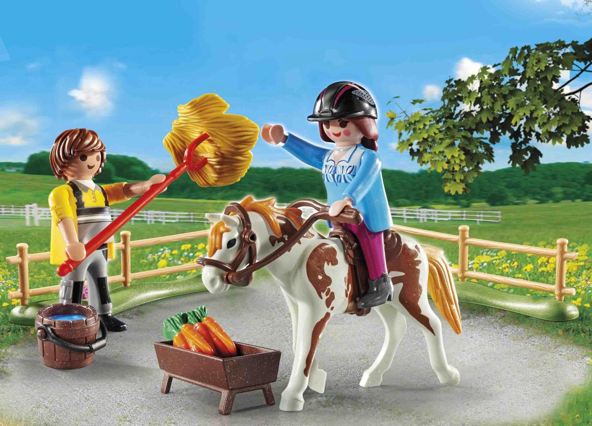 Playmobil Country: Starter Pack Stadnina koni - zestaw dodatkowy (70505)