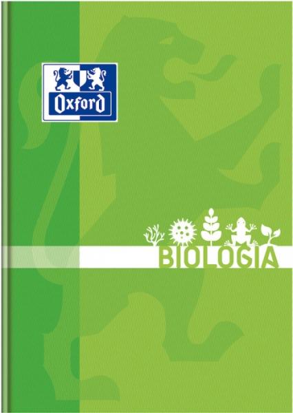 Brulion Oxford A5/80k, kratka z marginesem - Biologia (400128286)