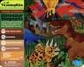 Walizka z magnesami Dinozaury