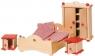 Sypialnia do domu dla lalek (GOKI-51954)