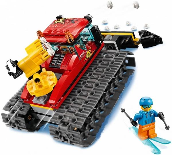 Lego City: Pług gąsienicowy (60222)