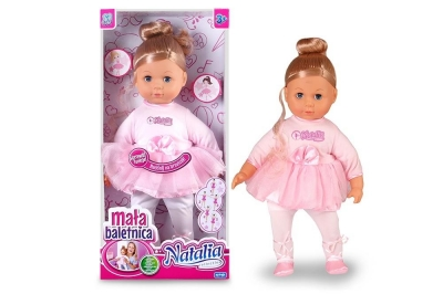 Lalka Natalia mała baletnica