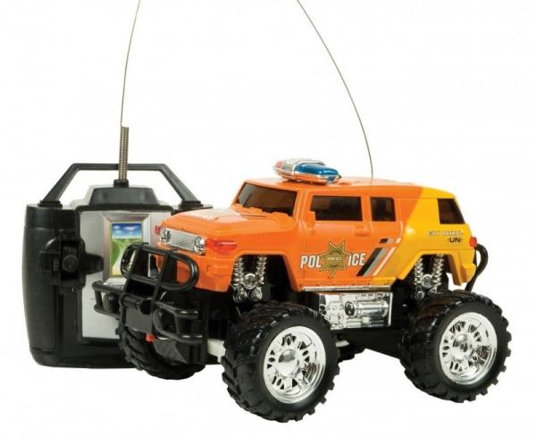 Monster truck z pakietem Policja (02254)