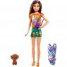 Barbie Chelsea: Siostry na wakacjach - lalka Skipper (GRT86/GRT88)