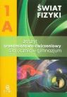 Świat fizyki 1A Zeszyt przedmiotowo-ćwiczeniowy Gimnazjum Rozenbajgier Maria, Rozenbajgier Ryszard