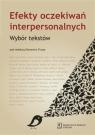 Efekty oczekiwań interpersonalnych