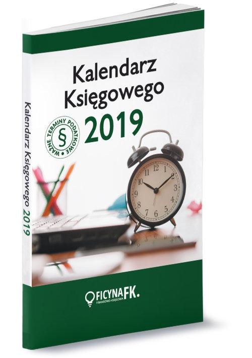 Kalendarz 2019 Księgowego Kuciński Rafał