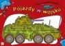 Pojazdy w wojsku. Malowanki wodne