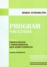 Program nauczania Specjalizacja: projektowanie i programowanie gier Stawarczyk Marek
